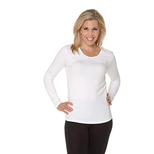 bf5aac78 Heirloom Long-Sleeve, Scoop Neck Tee, Women's Soft, Extra-Length Layering