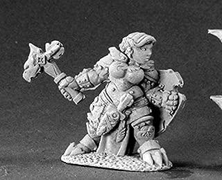 Reaper Minatures Nalila Goldhammer Female Dwarf Paladin Miniature Dark Heaven Legends