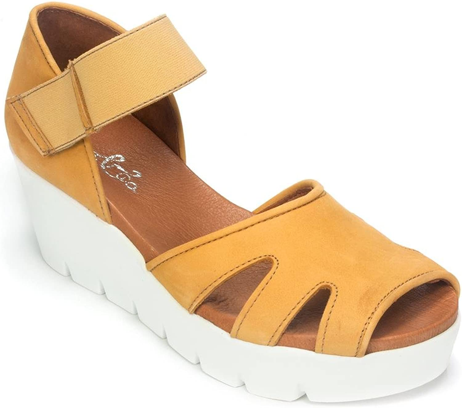 Bos. & Co. Sharon Low-Wedge Sandal