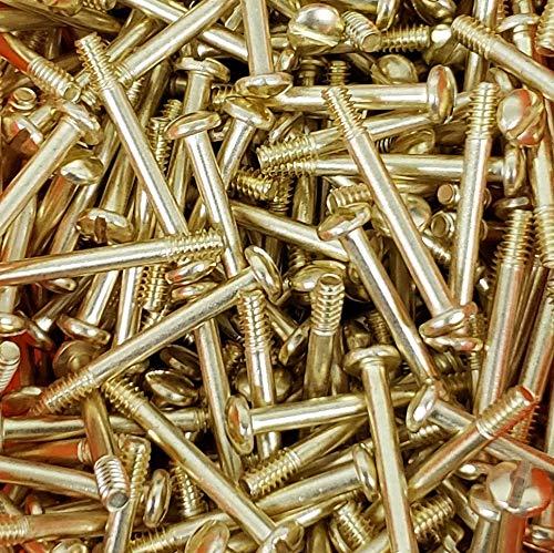 Tek Tactical 2 x Custom Smith & Wesson S&W K L N Frame Target & Magna Grip Screws Gold Plated