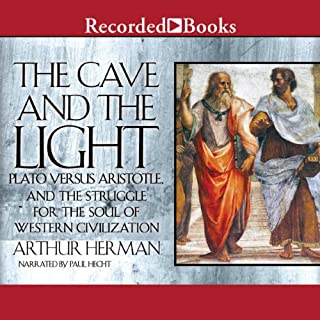 The Cave and the Light audiobook cover art