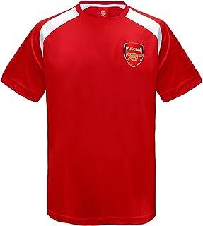 b093bf1c Arsenal FC Official Football Gift Boys Poly Training Kit T-Shirt