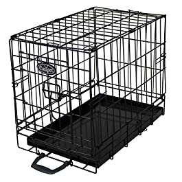 Easipet Dog Cage or Crate in Black for Toy Breeds (831)
