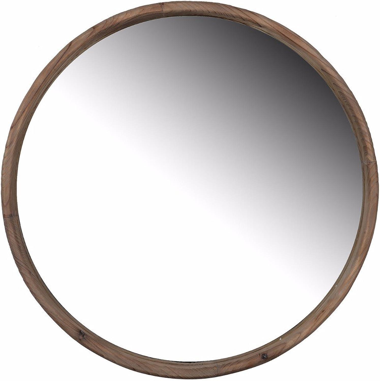 Benzara Up-Scaling Thayne Round Wall Mirror