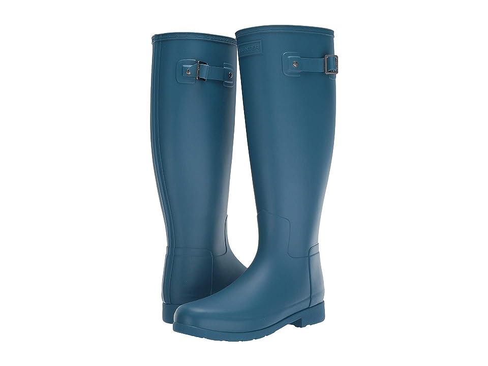 番目リム確保する[ハンター] レディースレインブーツ?長靴 Original Refined Wide Calf Rain Boot Matte [並行輸入品]