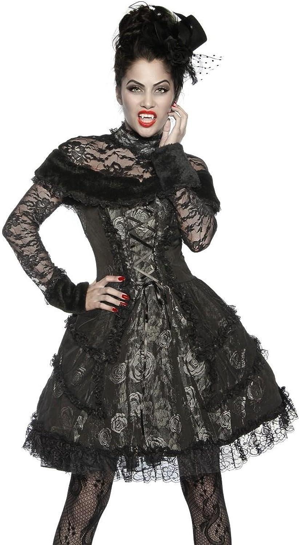 Premium Vampir-Kostüm - schwarz grau - S B009NWV7A8 Charakteristisch  | Modernes Design