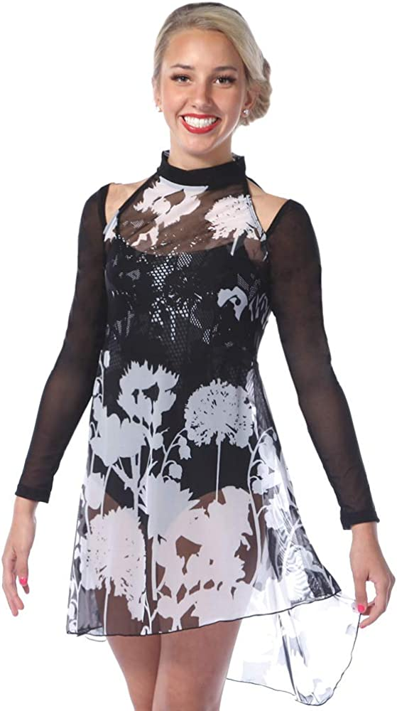 Alexandra Collection Womens Clara Mesh Costume Dance Safety and trust Special price Lyrical Ove
