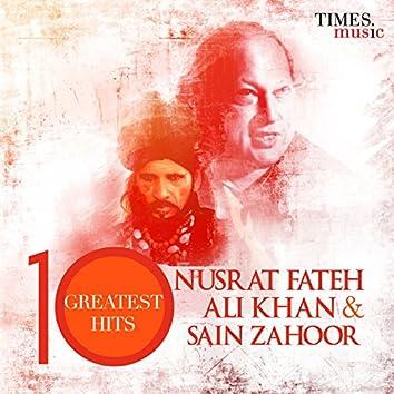 Nusrat Fateh Ali Khan and Sain Zahoor 10 Greatest Hits