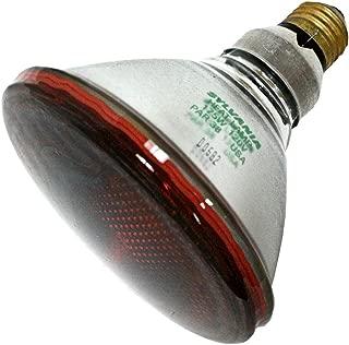 Sylvania 13840 - 175 Watt - PAR38 - Red Heat Lamp - 5,000 Life Hours - 120 Volt