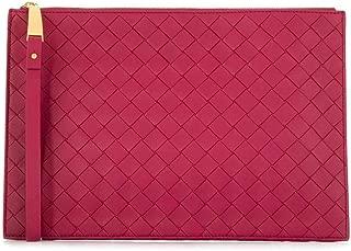 Luxury Fashion | Bottega Veneta Womens 592053VO0BM6215 Fuchsia Clutch | Fall Winter 19
