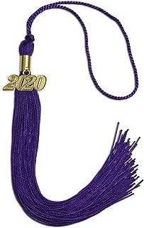Endea Graduation Single Color Tassel With Gold Date Drop