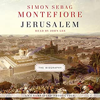 Jerusalem audiobook cover art