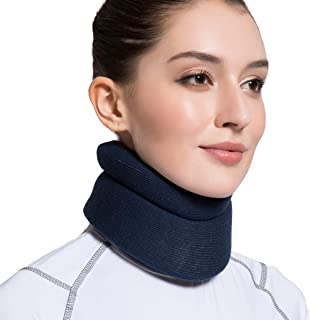 VELPEAU Neck Brace -Foam Cervical Collar – Soft Neck Support Relieves Pain &..