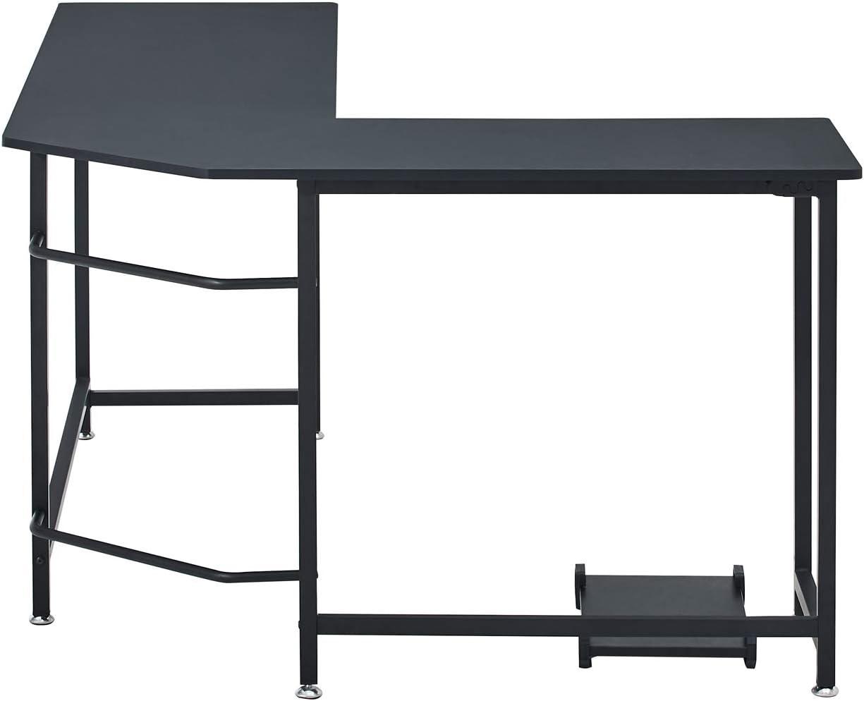 L168 D120 Schwarz H75CM Symylife Eckschreibtisch B/üro Schreibtisch f/ür zu Hause L-f/örmiger Computertisch Gro/ßer PC Laptop Workstation Spieltisch f/ür zu Hause