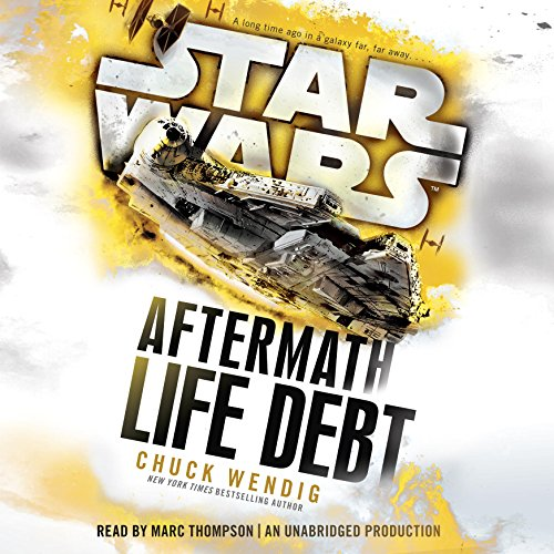 Star Wars: Life Debt - Aftermath, Book 2 by Chuck Wendig - Set between the events of Return of the Jedi and The Force Awakens, the never-before-told story that began with Star Wars: Aftermath continues in this thrilling novel....