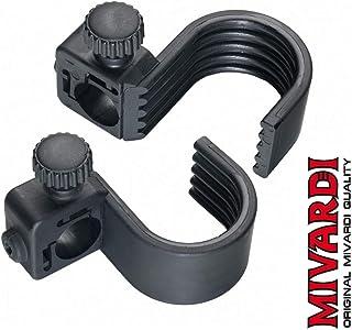 Rutenhalter Rutenklemmen Rutenauflage aus weichem Kunststoff /Ø ca.18mm 91-TZ-003