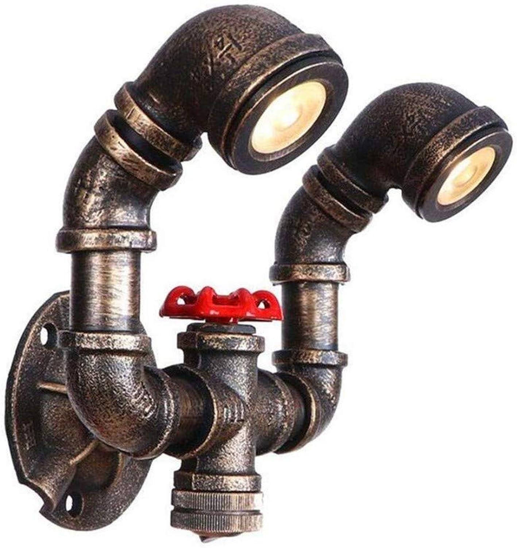 Aussenlampe Wandbeleuchtung Wandlampe Wandleuchte Innen Led Loft Metalleisen Wasserpfeife Rost Steam Punk Spot Restaurant 2 Wandlampe