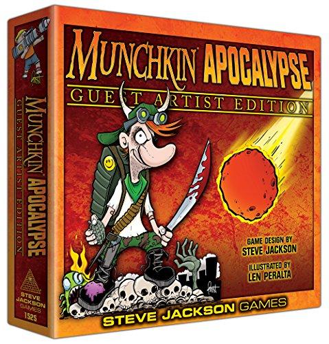 Steve Jackson Games SJG01525 - Munchkin Apocalypse Guest Artist Edition, Len Peralta