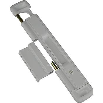CAL Doublex Classic: protección de ventana para puerta corredera, puerta para terraza y ventana corredera, protección antirrobo para puerta de balcón, protección antirrobo (blanco): Amazon.es: Bricolaje y herramientas