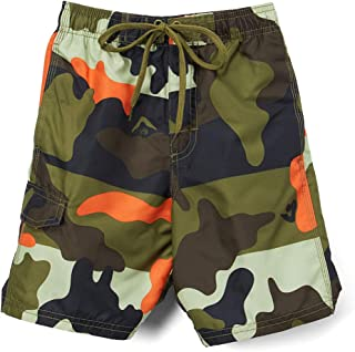 Kanu Surf Boys' Toddler Surf Camo Quick Dry Beach Board Shorts Swim Trunk