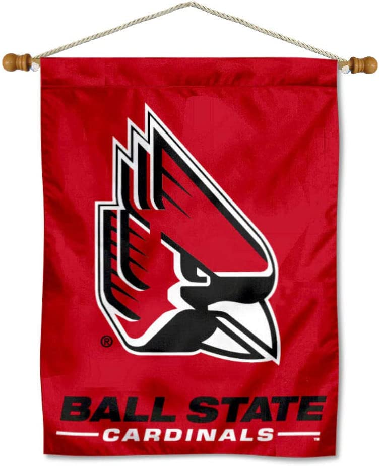 Ball State Cardinals Banner Pole Product Max 60% OFF with Hanging
