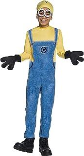 أزياء روبيز التنكرية - زي شخصية جيري مينيون للأطفال - متعددة الألوان، مقاس صغير
