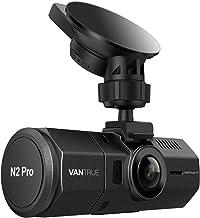 Vantrue N2 Pro Dual Lens 1080P Dash CAM, 1440P Front Dashcam para automóviles, 1.5 Pulgadas 310°, Visión Nocturna por Infrarrojos, Sensor Sony, Modo de estacionamiento, Sensor G, 256GB MAX