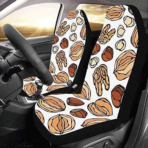 Pindakaas Kleine Bonen Dagelijks Voedsel Auto Stoelhoezen Beschermer voor Automobile Jeap Truck SUV Voertuig