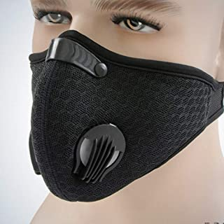 Carrfan- Dustproof Carbon Filtration Face Mask for Running/Training/Sport Workout/Cycling, 40g