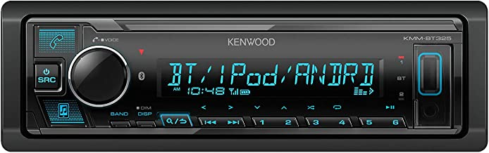Kenwood KMMBT325 Media Player (no cd) Bluetooth, MP3, USB, AUX. AM-FM car Radio