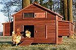 Zooprimus Poulailler en bois pour jardin extérieure cage canard équipé 2 nichoirs 188 x 87 x 113 cm -- 129 Ferme de terrain #2