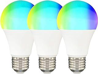 YOUANG Bombilla Inteligente Zigbee Brillo Ajustable Adecuada para Bombillas LED de Hogar Inteligente