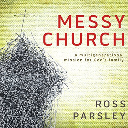Messy Church audiobook cover art