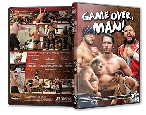 Pro Wrestling Guerrilla - Game Over Man DVD