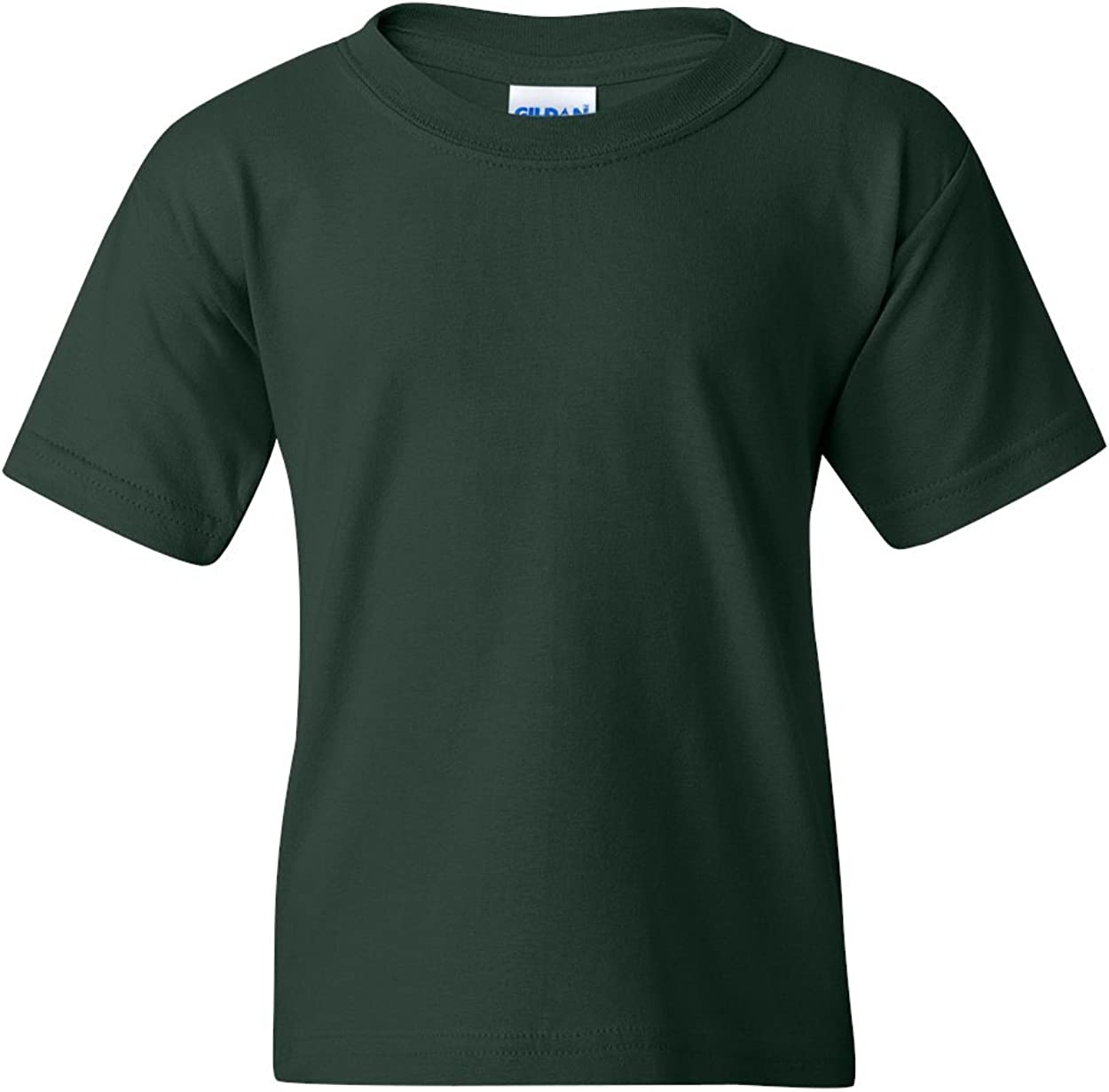 Heavy Cotton T-Shirt (G500B) Forest Green, M (Pack of 12)