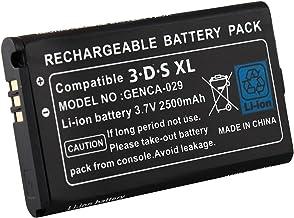 Link-e : Batteria ricaricabile 3.7V 2500mAh (cacciavite inclusa) per console di gioco portatile Nintendo 3DS XL
