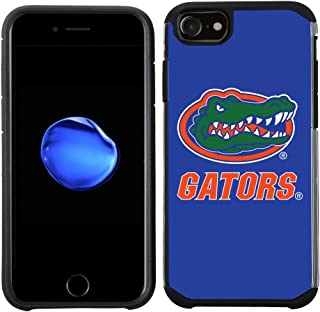 Prime Brands Group Textured Team Color Cell Phone Case for Apple iPhone 8/7/6S/6 - NCAA Licensed University of Florida Gators