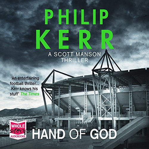 Hand of God audiobook cover art