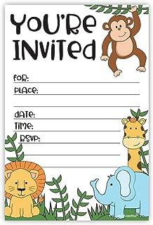 Best zoo animal birthday invitations Reviews