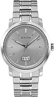 Bulova - 96B200 - Reloj Analógico de Cuarzo para Hombre, Correa de Acero Inoxidable Color Gris