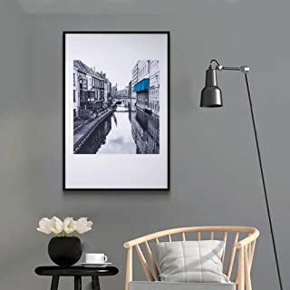 MOTINI Print Wall Art of Venice Canal Photograph 24