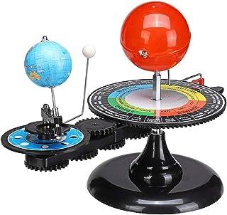 Grokebo 天体 おもちゃ ソーラーシステムモデル 三球儀 太陽 地球 月 動く太陽系模型 物理玩具 惑星軌道 軌道模型 天体運動 教育玩具 知育おもちゃ 入学 誕生日プレゼント