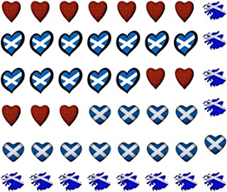 KazCreations St Andrews Scotland Collection (Scotland Water Nail Decals Art)