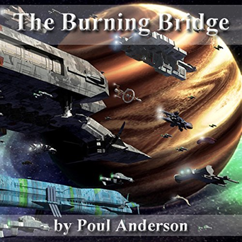 The Burning Bridge audiobook cover art