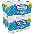 Quilted Northern Soft and Strong, Double Rolls, (4 packs of 6 double rolls) 24 total count