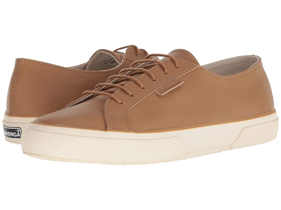 Superga 2750 Fgldyedm (Tan Leather) Men