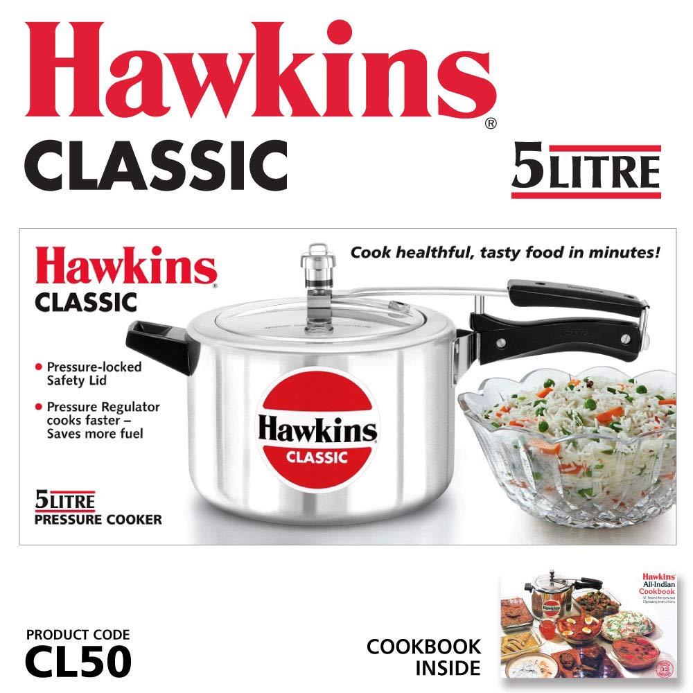 Hawkins Pressure Cooke 5 litre (CL50) 4