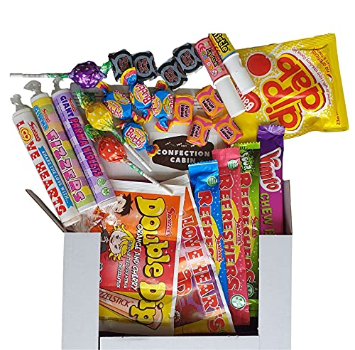 Letterbox Retro Sweets Gift Set Box for Kids, Mums and Dads, Men and Women...