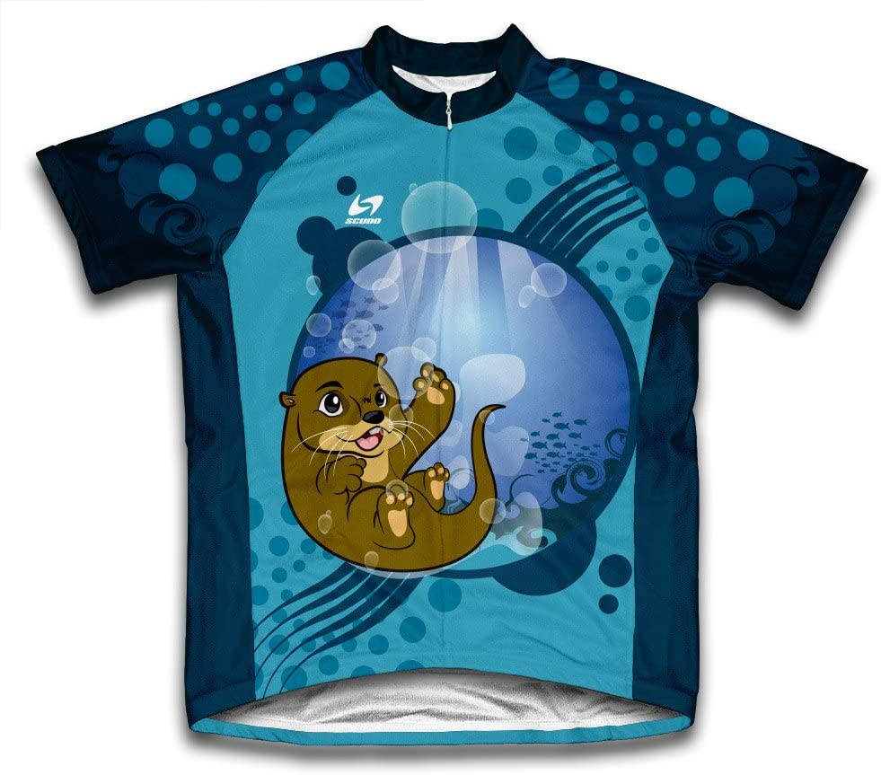 ScudoPro Underwater Baby Otter Short Sleeve Y Cycling for Jersey Max 35% OFF 82% OFF