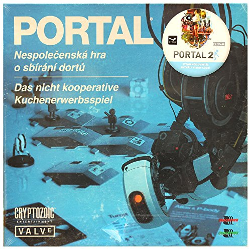 Cryptozoic CZE01823-DE/CZ - Portal: The Uncooperative Cake Acquisition Spiel, Deutsch/Tschechisch